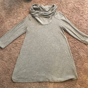 Maternity Long-Sleeve Tunic